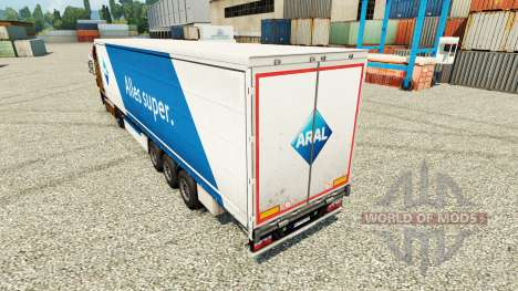ARAL piel para remolques para Euro Truck Simulator 2