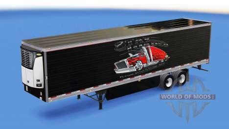 La piel se mantenga Cargado en refrigerada semi- para American Truck Simulator