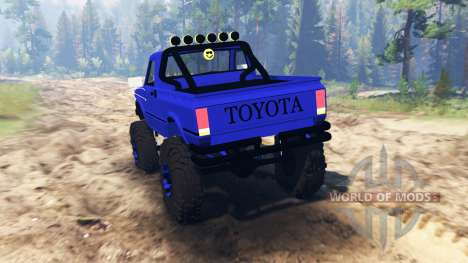 Toyota Hilux 1981 para Spin Tires