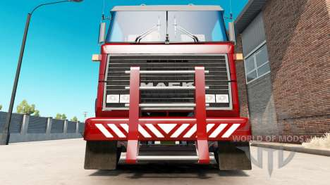 Pesado Deber de parachoques para Mack MH Ultra-L para American Truck Simulator