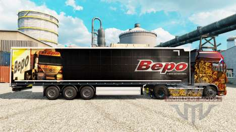 Bepo piel para remolques para Euro Truck Simulator 2