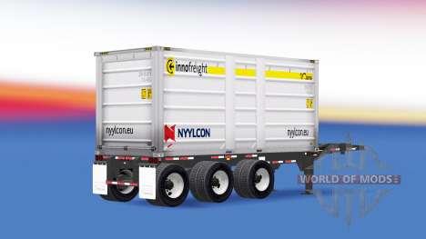 Un camión Nyylcon para American Truck Simulator