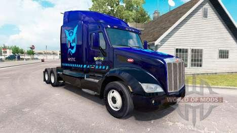Mística de la piel para el camión Peterbilt 579 para American Truck Simulator