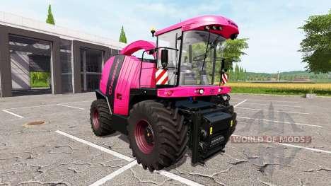 Krone BiG X 1100 pink para Farming Simulator 2017