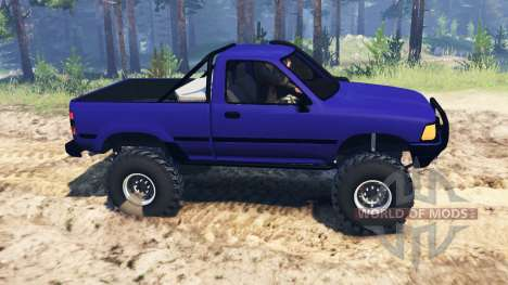 Toyota Hilux 1989 para Spin Tires