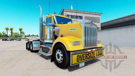 Paragolpes Sobredimensionados de Carga para el K para American Truck Simulator