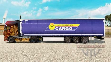 La piel PKS Internacional de Carga S. A. en el r para Euro Truck Simulator 2