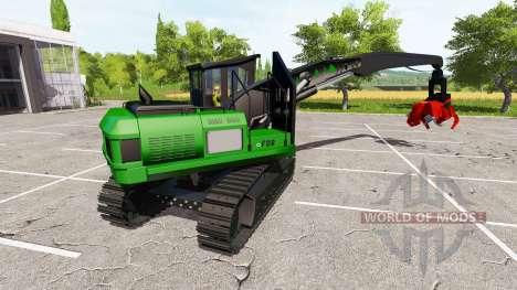 Excavadora-cosechadora cuelgan para Farming Simulator 2017