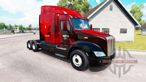 El Valor de la piel para el camión Peterbilt 579 para American Truck Simulator