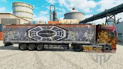 DARPA piel para remolques para Euro Truck Simulator 2