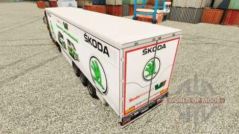 Škoda piel para remolques para Euro Truck Simulator 2