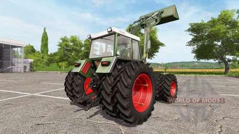Fendt Farmer 312 LSA Turbomatik v1.0.1 para Farming Simulator 2017