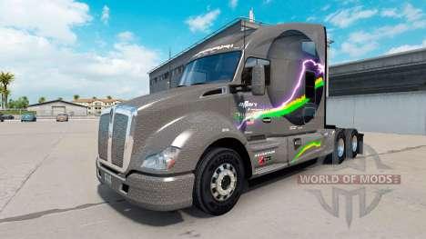 Affari de Transporte de la piel para Kenworth T6 para American Truck Simulator