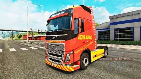 Telares Almelo de la piel para camiones Volvo para Euro Truck Simulator 2