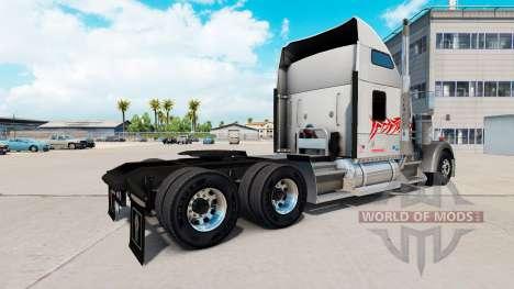 La piel del Toro en el camión Kenworth W900 para American Truck Simulator