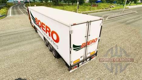 Boero Transportes de la piel para remolques para Euro Truck Simulator 2