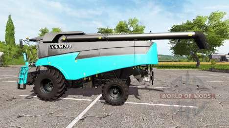 Yo Rostselmash Tora 760 v1.1 para Farming Simulator 2017