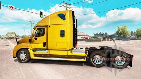 Freightliner Cascadia v2.1.3 para American Truck Simulator