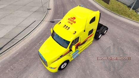 La piel Decker en el tractor Peterbilt 387 para American Truck Simulator