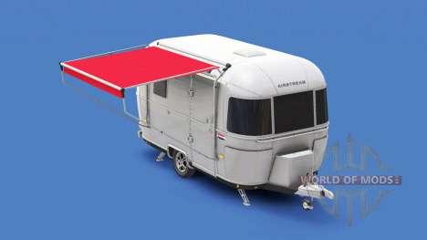 Remolque Airstream para American Truck Simulator