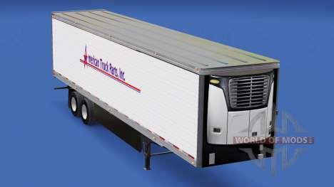 La Piel American Truck Parts Inc. en el trailer para American Truck Simulator