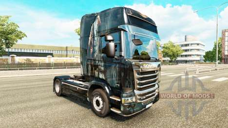 De la piel para Scania camión para Euro Truck Simulator 2