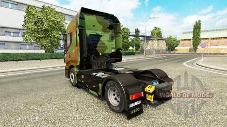 De camuflaje de piel para Iveco tractora para Euro Truck Simulator 2