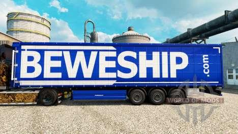 Beweship de la piel para remolques para Euro Truck Simulator 2