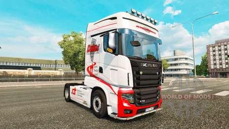 Los duques de Transporte de la piel para Scania  para Euro Truck Simulator 2