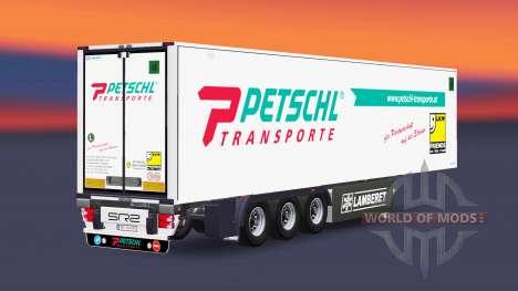 Semitrailer reefer EN Petschl para Euro Truck Simulator 2