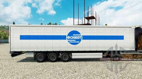 Schmidt Heilbronn skin for trailers para Euro Truck Simulator 2