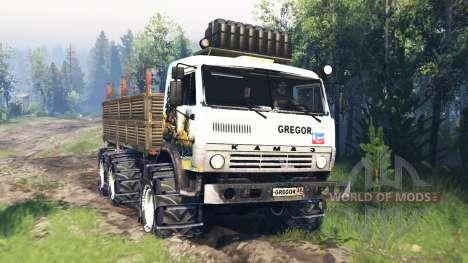 KamAZ-43114 v5.0 para Spin Tires