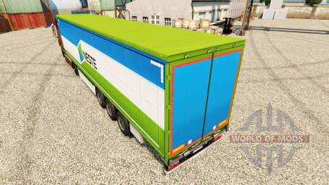 Neste piel para remolques para Euro Truck Simulator 2