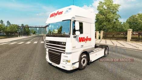 Weyres de la piel para DAF camión para Euro Truck Simulator 2