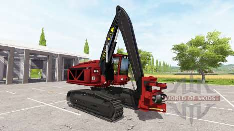 Excavadora-cosechadora para Farming Simulator 2017
