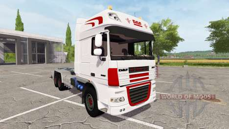 DAF XF container truck para Farming Simulator 2017