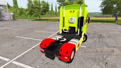 DAF XF Super Space Cab tuning para Farming Simulator 2017