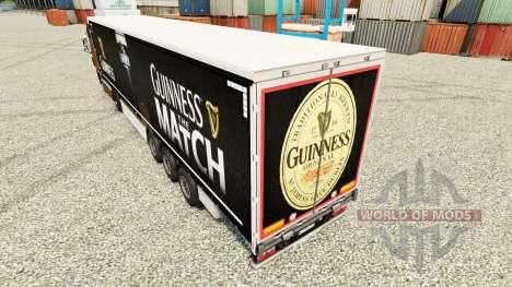 Guinness de la piel para remolques para Euro Truck Simulator 2
