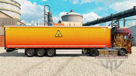 Piel Clara en semi para Euro Truck Simulator 2
