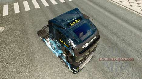 La piel es Sub-Zero en la Volvo trucks para Euro Truck Simulator 2
