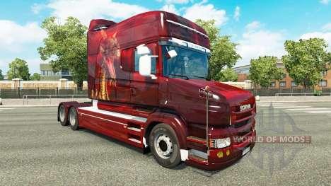 Piel de Dragón para camión Scania T para Euro Truck Simulator 2
