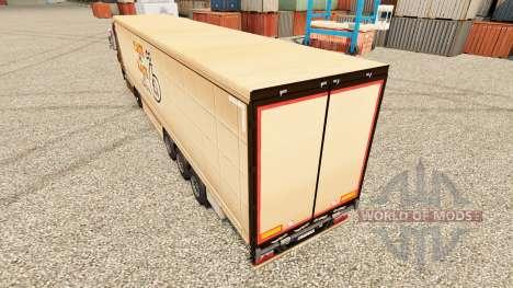 La piel Plaste und Elaste para remolques para Euro Truck Simulator 2