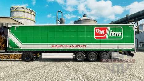 La piel GM itm Mobeltransport para remolques para Euro Truck Simulator 2