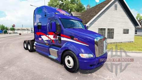 La Piel De B. T. Inc. el tractor Peterbilt 387 para American Truck Simulator