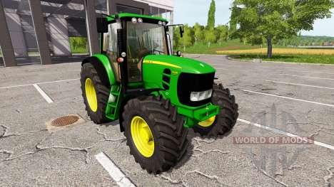 John Deere 7530 Premium v0.1 para Farming Simulator 2017