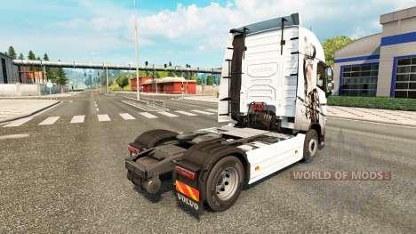 Sexy Fantasía de la piel para camiones Volvo para Euro Truck Simulator 2