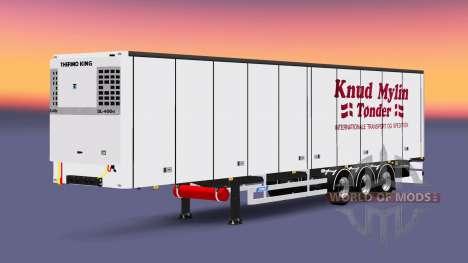 El semirremolque-el refrigerador Knuy Mylin Nark para Euro Truck Simulator 2