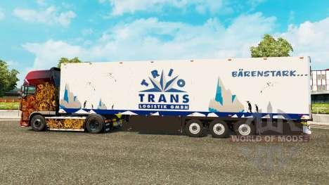 Semitrailer el refrigerador Schmitz Trio Trans para Euro Truck Simulator 2