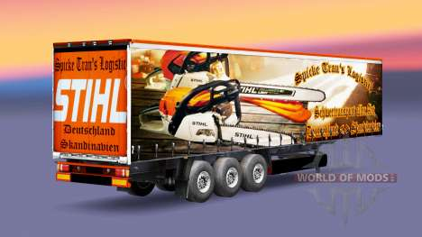 El Pico de Trans Logística de la piel para remolques para Euro Truck Simulator 2