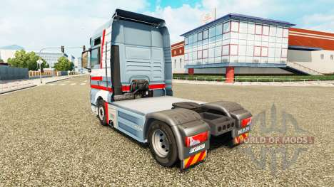 La piel A. Ebner en el tractor HOMBRE para Euro Truck Simulator 2